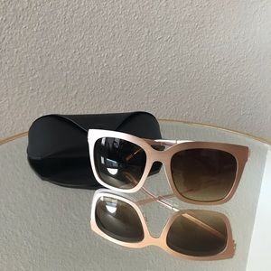 "DIFF Eyewear Blush ""Stainless Steel"" Sunglasses"